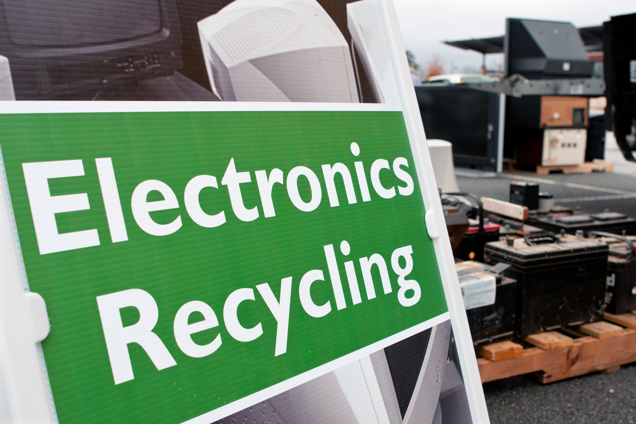 Elmhurst Electronics Recycling Event