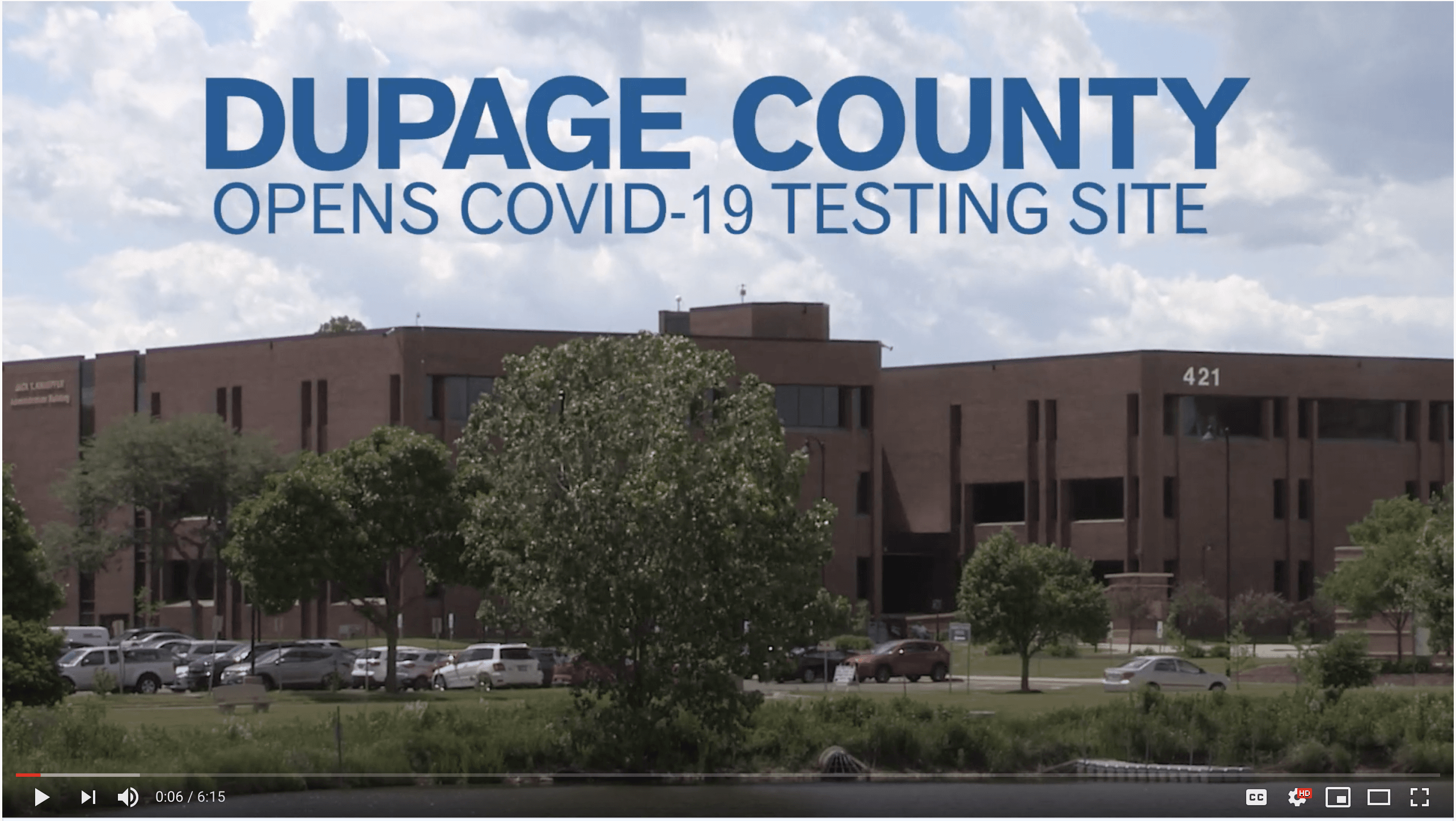 DuPage County Testing Site