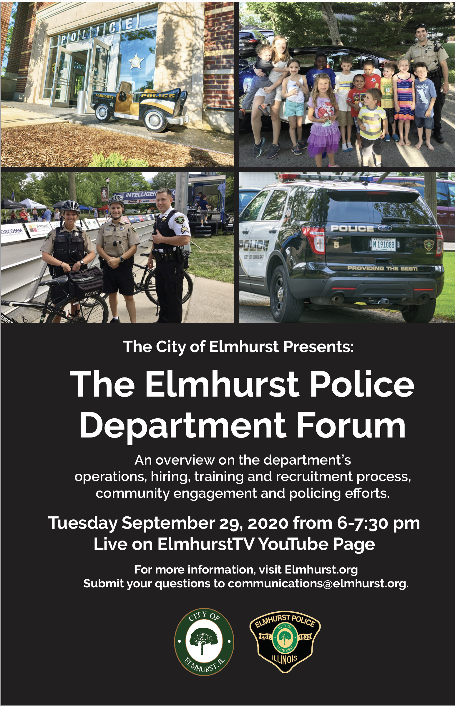 Elmhurst Police Department Forum