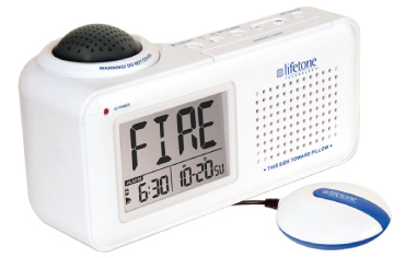 Fire Alarm for Hearing Impaired